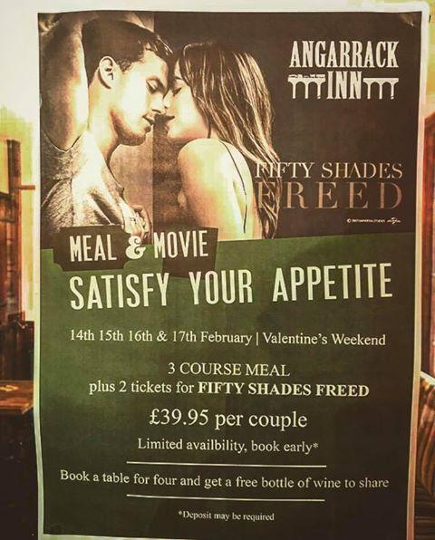 Book soon for our special Valentines menu and offer ❤️